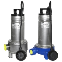 Sanitary pumps Gnom F & Gnom FR (furnished with cutting mechanism)