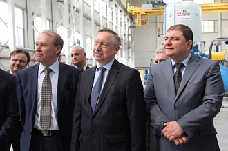 The Plenipotentiary Representative of the President of RF in Central Federal District Mr.Alexander Beglov has visited industrial enterprises of Livny