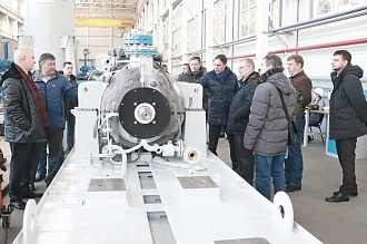 On 29.11.2018 the JSC HMS Livgidromash welcomed  special delegation of chief mechanics and leading engineers of NGDO PJSC Lukoil for purposes of working tour