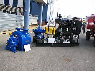 HMS Pumps at an economic forum of Chernozem region 2010