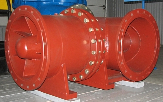 HMS Livgidromash developed series manufacturing of new axial pumps OG-50 and mobile pumping stations SNP